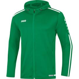 JAKO Veste à capuchon Striker 2.0 vert sport-blanc 6819/06