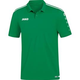 JAKO Polo Striker 2.0 sportgroen-wit 6319/06