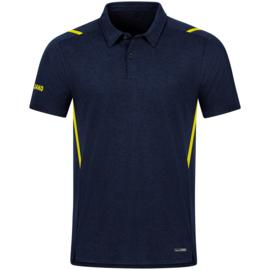 JAKO Polo Challenge marine/fluogeel (6321/512)