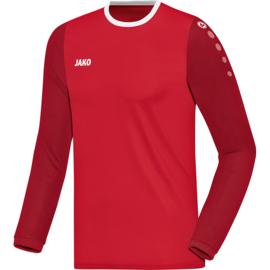 JAKO Shirt Leeds LM rood-donkerrood 4317/01