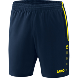 Jako Short Competition 2.0 marine-fluogeel 6218/89