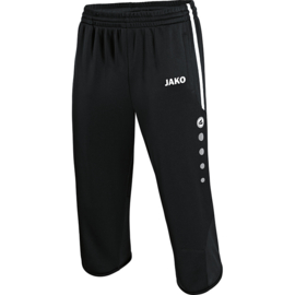 3/4 Trainingsshort Active zwart-wit ( vk linden )