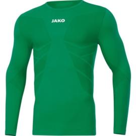 Shirt underwear lange mouwen groen (6455/06)
