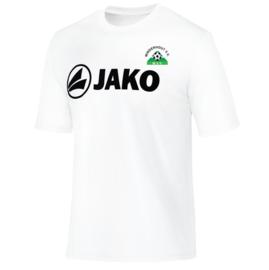 Functional shirt Promo wit  (met clublogo MINDERHOUT)(6164/00)
