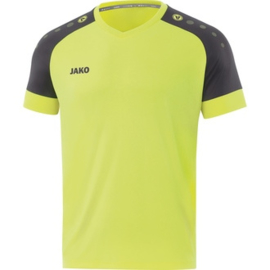 JAKO Shirt Champ 2.0 KM felgeel-antraciet 4220/36 ( NEW )