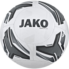JAKO Trainingsbal/wedstrijdbal  Match 2.0 wit-grijs 2329/40 (NEW)
