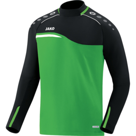 JAKO Sweater Competition 2.0 soft groen-zwart 8818/22