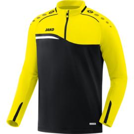 JAKO Ziptop Competition 2.0 zwart-fluo geel 8618/03