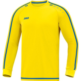 JAKO Shirt Striker 2.0 LM geel-royal 4319/12 (NEW)