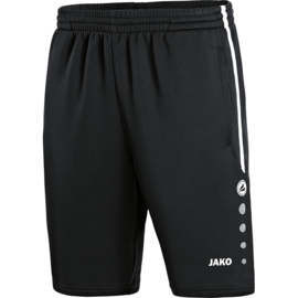 JAKO Trainingsshort Active zwart-wit 8595/08