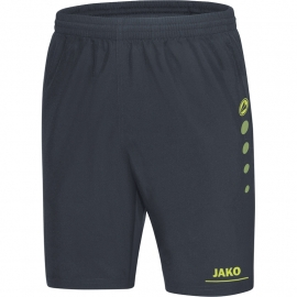 Jako Short Striker antraciet-limoen 6216/23