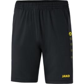 JAKO Trainingsshort Premium zwart- citroen 8520/33