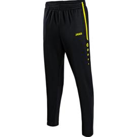 JAKO Pantalon d'entraînement Active noir/jaune fluo 8495/33
