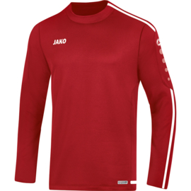 JAKO Sweater Striker 2.0 chilierood-wit 8819/11