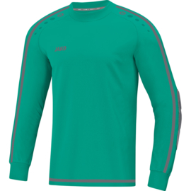 Jako Keepershirt Striker 2.0 fluo turkoois-antraciet 8905/24