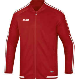 JAKO Veste de loisir Striker 2.0 rouge chili-blanc  9819/11