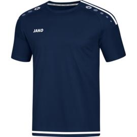JAKO T-shirt/Shirt Striker 2.0 KM marine-wit 4219/99