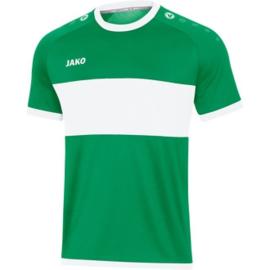 JAKO Shirt Boca KM sportgroen-wit 4213/06