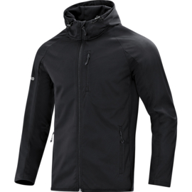 JAKO Veste softshell light noir 7605/08
