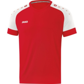 JAKO Shirt Champ 2.0 KM sportrood-wit 4220/01 ( NEW )