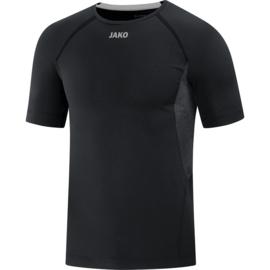 JAKO T-shirt Compression 2.0 zwart 6151/08