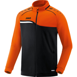 JAKO  Veste polyester Competition 2.0 noir-orange fluo 9318/19