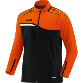JAKO Veste de loisir Competition 2.0 noir-orange fluo 9818/19