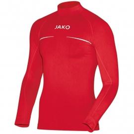 JAKO Shirt opstaande kraag Comfort rood 6952/01