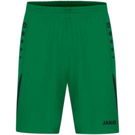 JAKO Short Challenge sportgroen/zwart (4421/201)