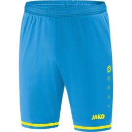 JAKO Short Striker 2.0 jakoblauw-fluogeel  4429/89