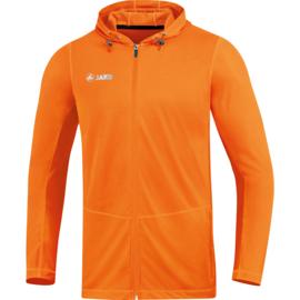 JAKO Jas met kap Run 2.0 JAKO fluo oranje 6875/19