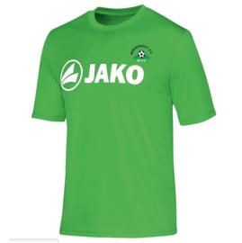 T-Shirt Promo zachtgroen (met clublogo MINDERHOUT)( 6164/22)