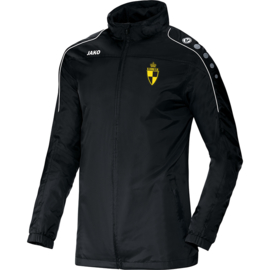 Regenjas Team zwart (+ Clublogo SK LIER)