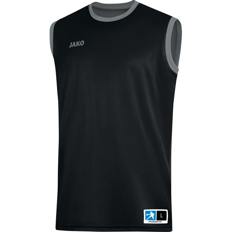 JAKO Reversible shirt Change 2.0 noir-gris 4151/08