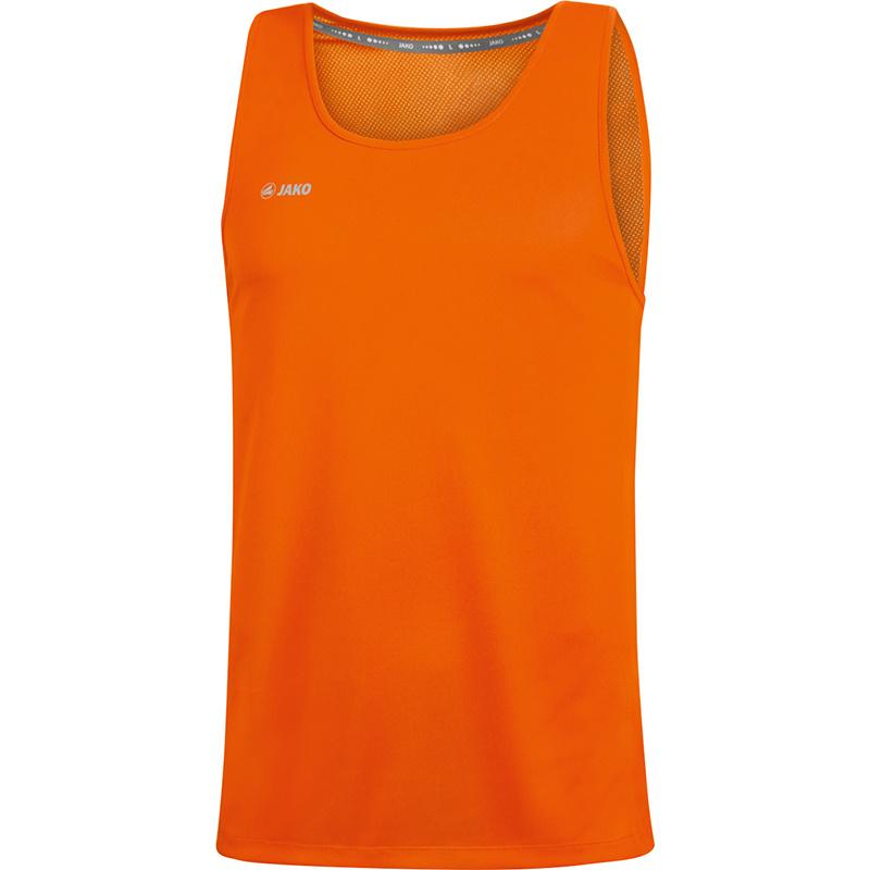 JAKO Tank top Run 2.0 orange fluo 6075/19