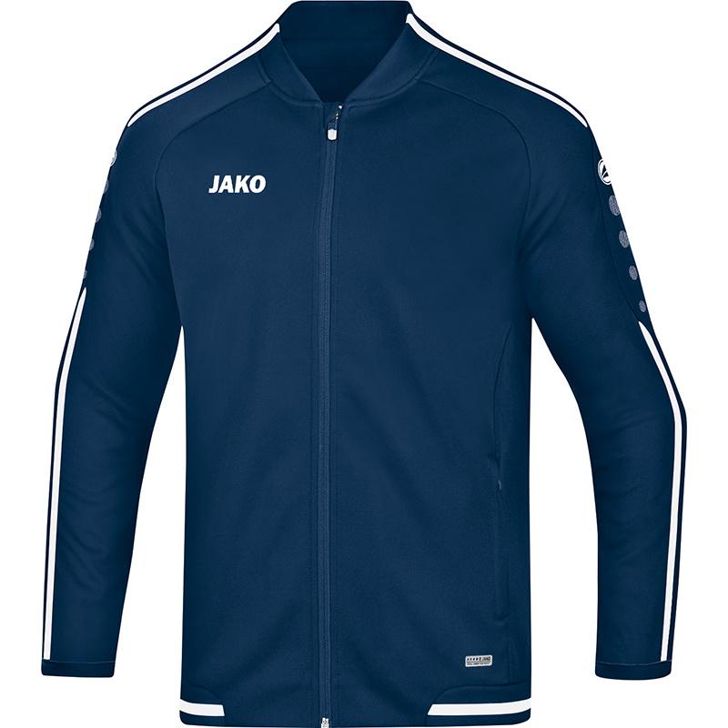 JAKO  vrijetijdsvest striker 2.0 marine-wit 9819/99