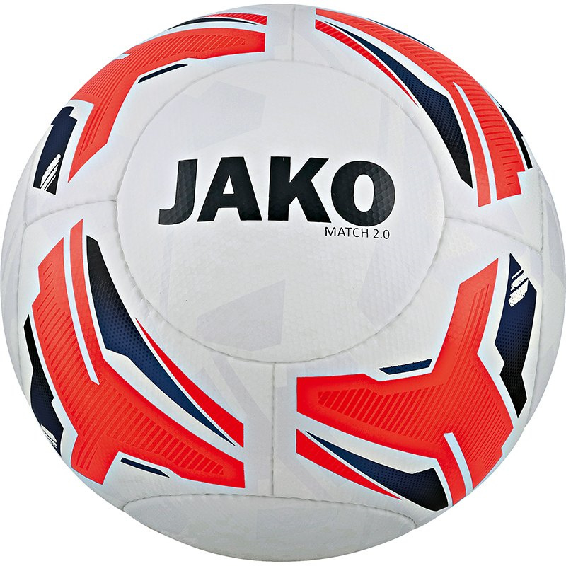 JAKO Trainingsbal/wedstrijdbal  Match 2.0 wit-flame-marine  2329/00