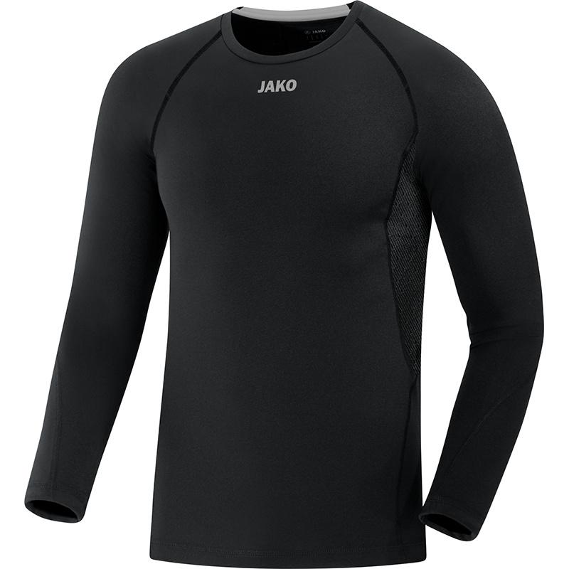 JAKO Shirt Compression 2.0 LM zwart 6451/08