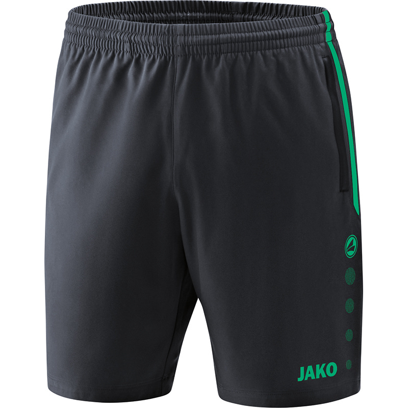 JAKO Short Competition 2.0 anthracite-turquoise 6218/24