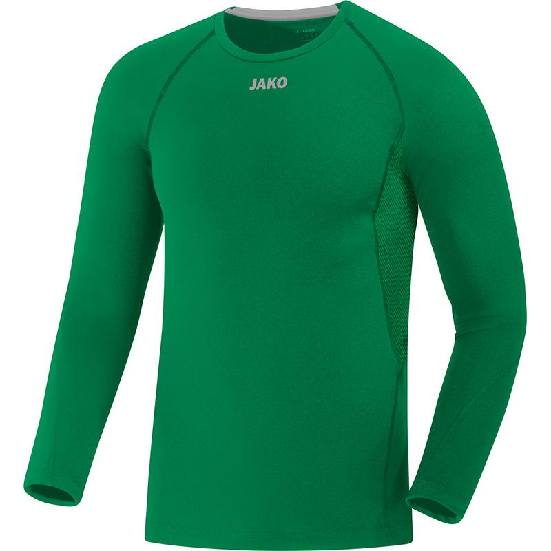 JAKO Shirt Compression 2.0 LM groen 6451/06