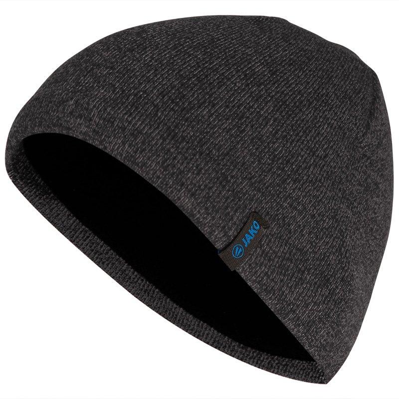 JAKO Bonnet tricoté noir 1223/08
