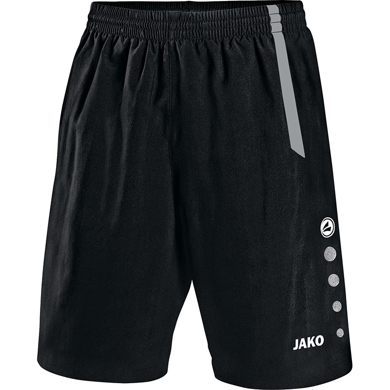 JAKO Short Turin zwart-grijs 4462/81