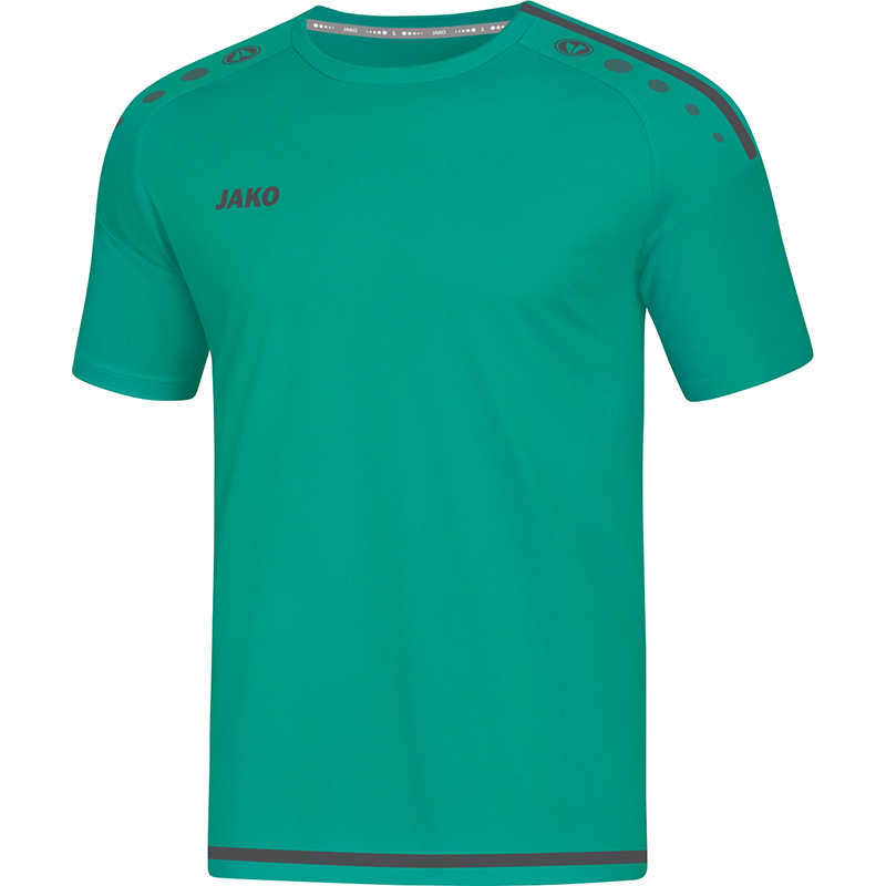 JAKO T-shirt Striker 2.0 turkoois-antraciet 4219/24