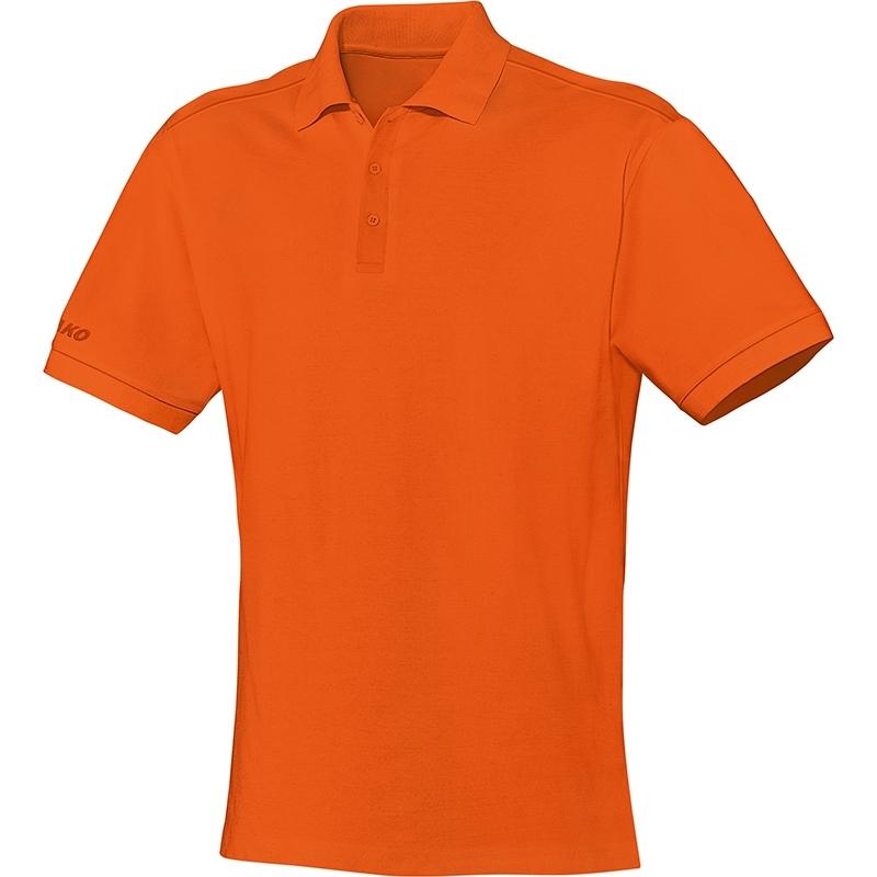 JAKO  Polo Team neon oranje 6333/19