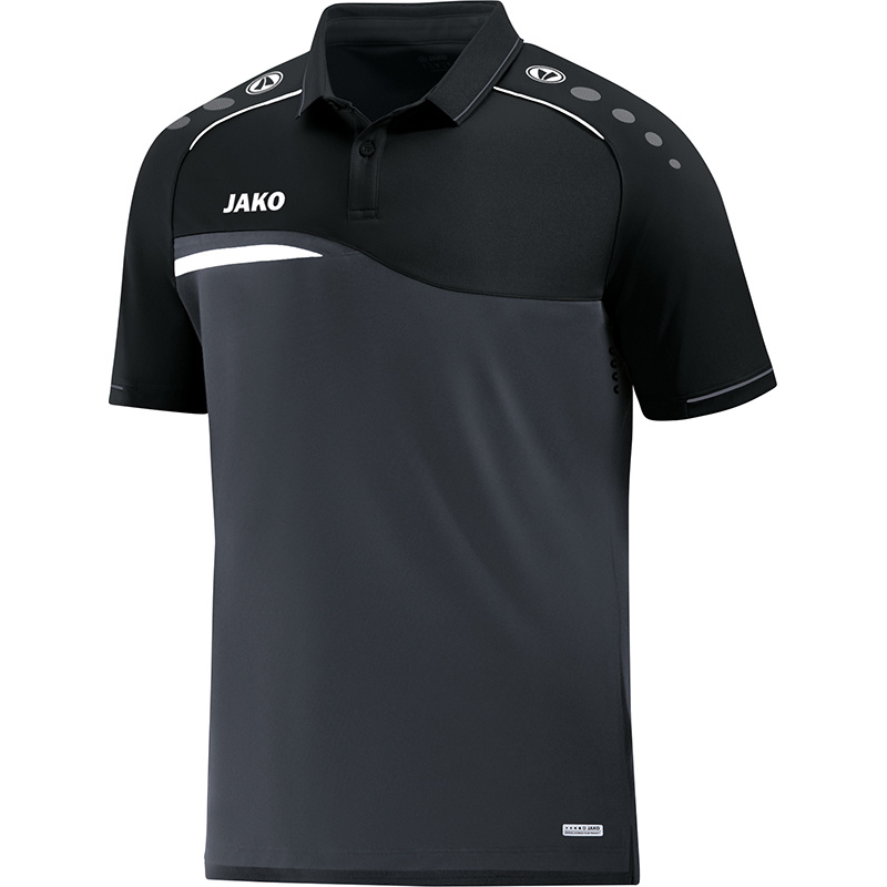 JAKO Polo Competition 2.0 anthracite-noir 6318/08