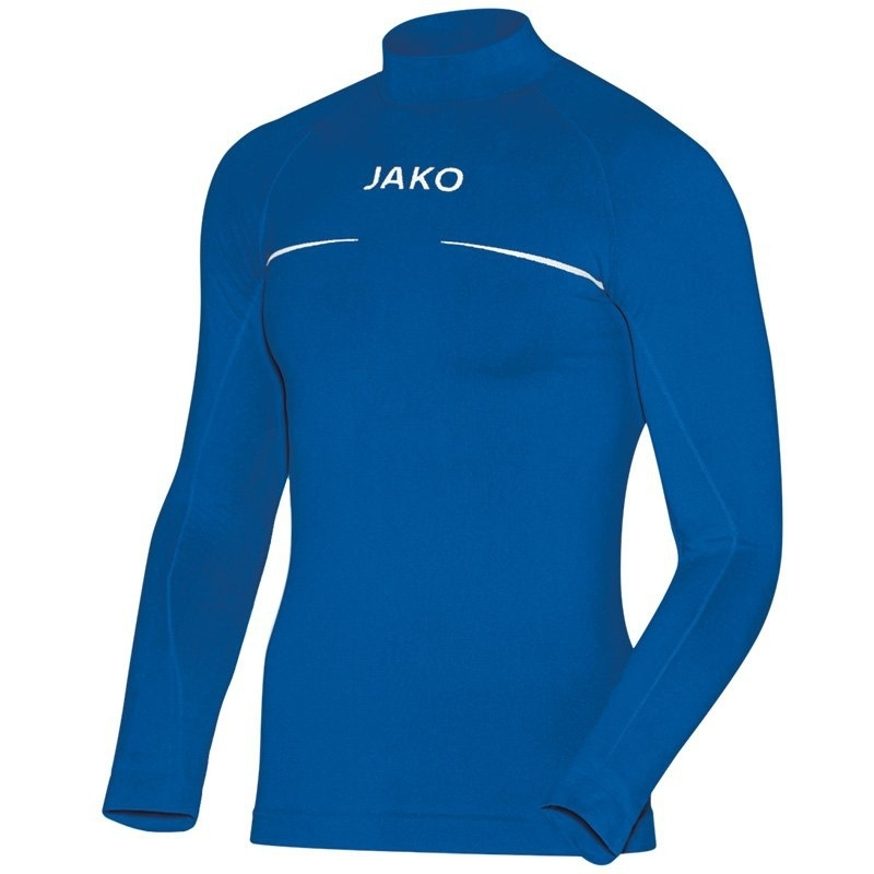 JAKO Shirt opstaande kraag Comfort royal 6952/04