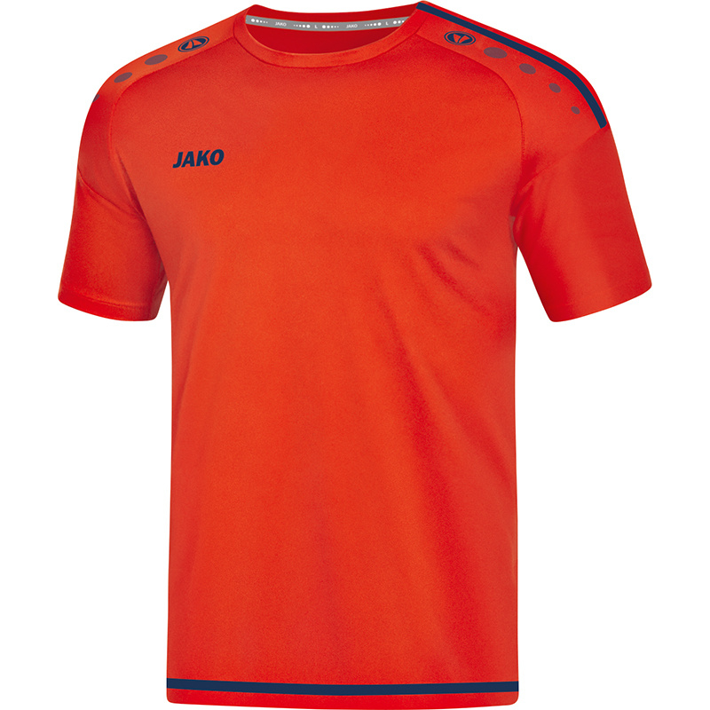 JAKO T-shirt Striker flame-navy 4219/18