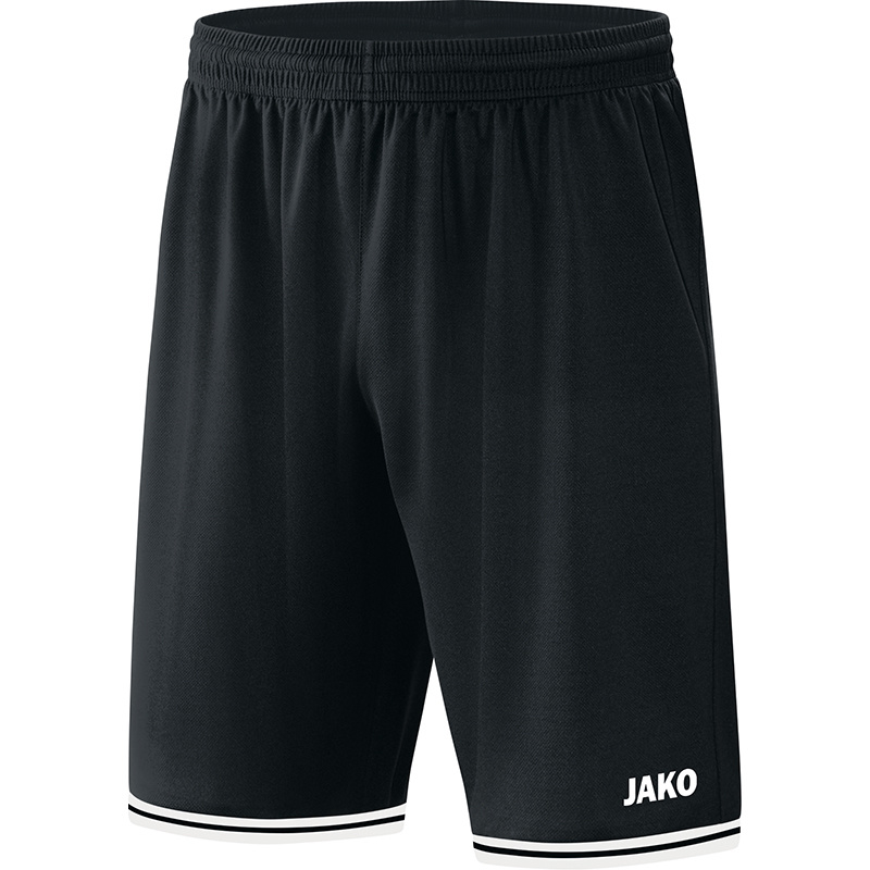 JAKO Short Center 2.0 zwart-wit 4450/08