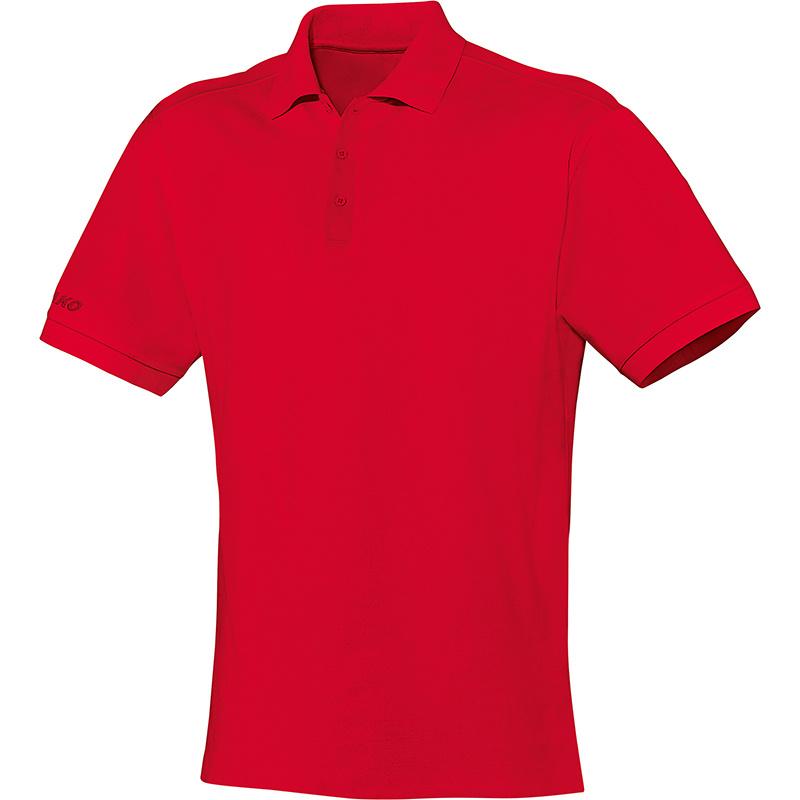 Polo Team rood-wit (met bedrukking KAZSC)