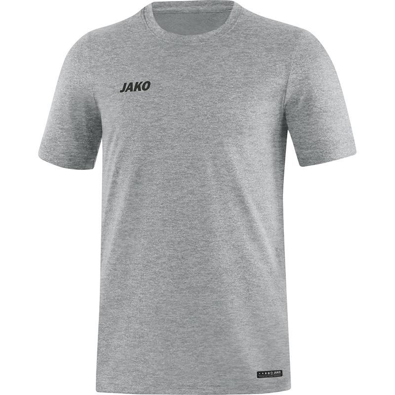JAKO T-shirt Premium Basics grijs gemeleerd 6129/40